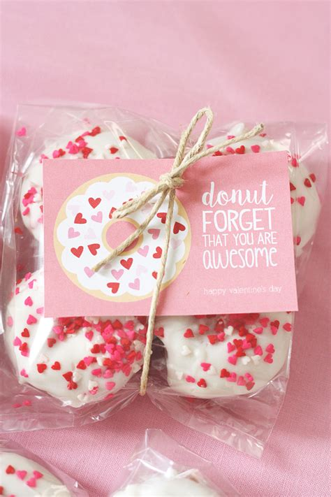 valentines donuts donut printables eighteen25