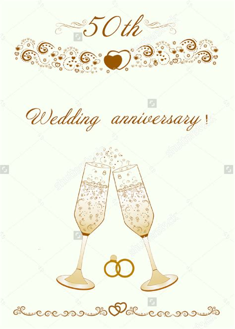 wedding anniversary templates invitation templates wedding anniversary wedding