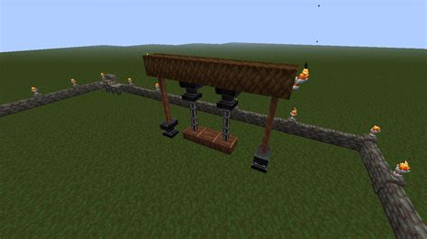 how to make a swing set in minecraft a house i built today screenshots show your creation