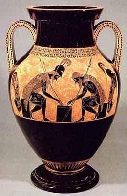 valore vasi etruschi ceramica greca stile attico a figure nere