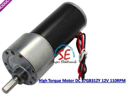 Motor Gearbox Motor Dc Untuk Mainan Robot Dll motor dc gearbox 110rpm torsi 6kg 12v motor dc untuk penggerak malang electronic