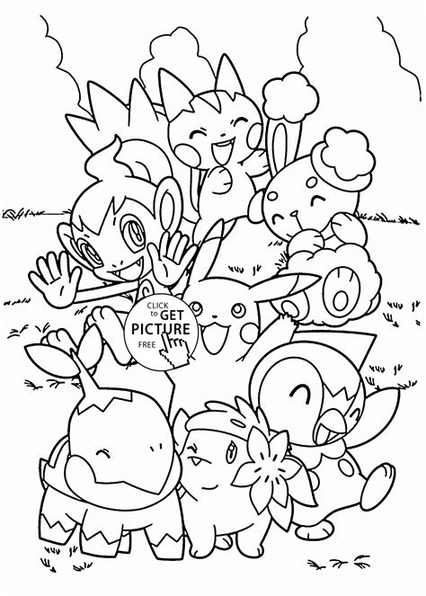 free printable coloring pages of pokemon black and white cute pokemon coloring pages for kids pokemon characters