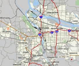 Portland Or Map by Portland Maps
