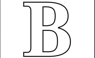 letter b coloring pages printable letter b coloring page printable alphabet
