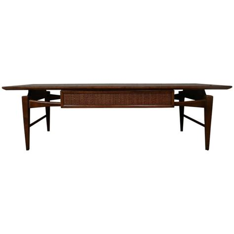Mid Century Modern Coffee Tables Mid Century Modern Coffee Table W Drawer By At 1stdibs