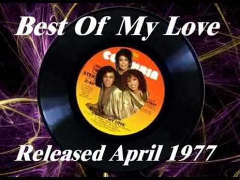 best of my emotions the emotions best of my april 1977