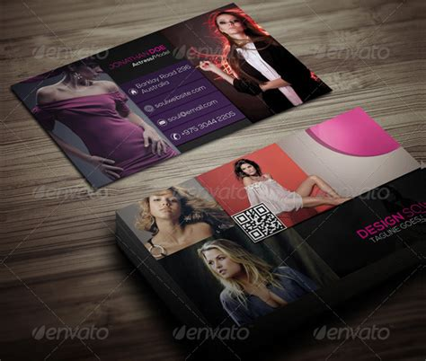 fashion model business card template 23 fashion business card free premium