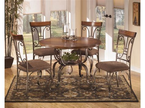 ashley furniture dining room table signature design by ashley dining room round dining table