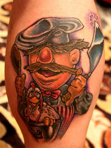 powerline tattoo powerline tattoos mike ledoux swedish chef