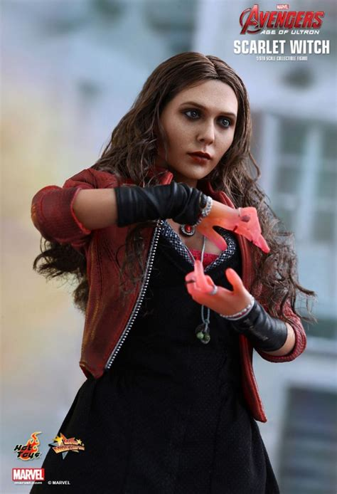 hot toys avengers aou scarlet witch action figure