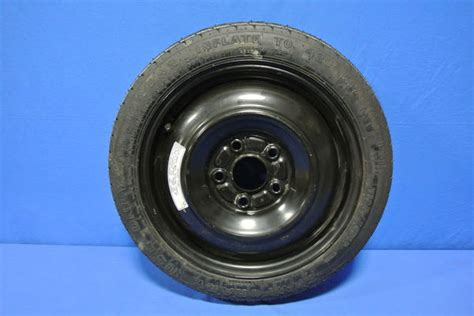 honda civic spare tire 2009 honda civic spare tire compact donut 5 lug black