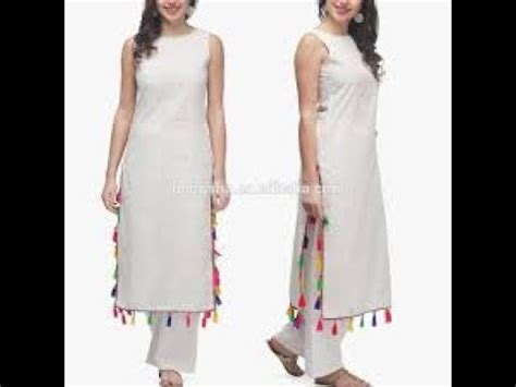 Sleeve Kurta Zipper cut sew sleeveless kurti without sleeve cut sleeve lucknawi chicken kurti with back zip