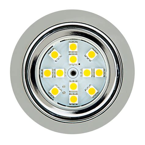 Recessed Led Light Fixtures Recessed Led Puck Lights 12 Led 20 Watt Equivalent 170 Lumens Dome Puck Recessed Led