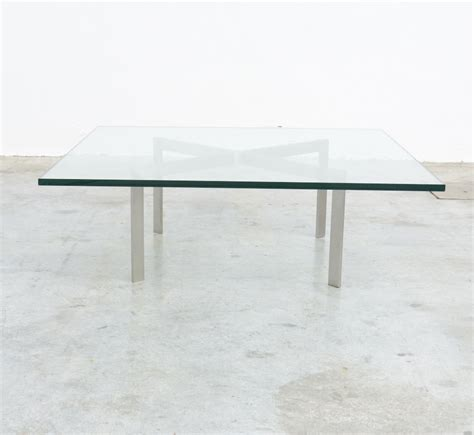 Tugendhat Coffee Table By L Mies Van Der Rohe For Knoll Mies Der Rohe Coffee Table