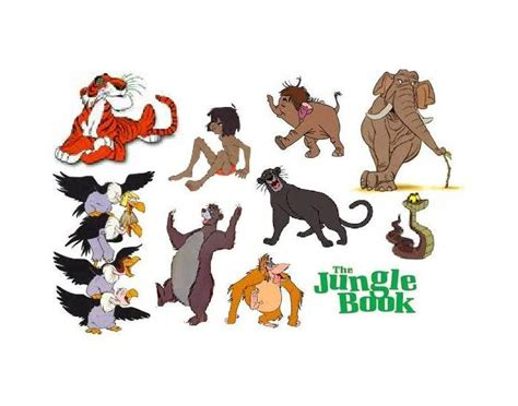 jungle book characters names and pictures disney jungle book characters names wallpaper