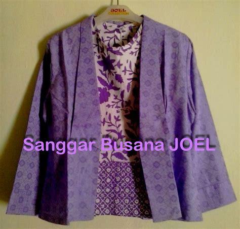 blazer purple ungu outer inner semi blazer batik embos ungu variasi inner ungu blazer