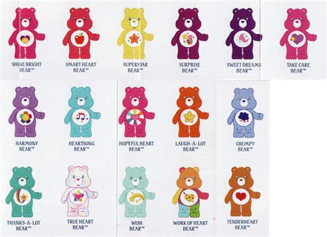 care bear cousins names with pictures