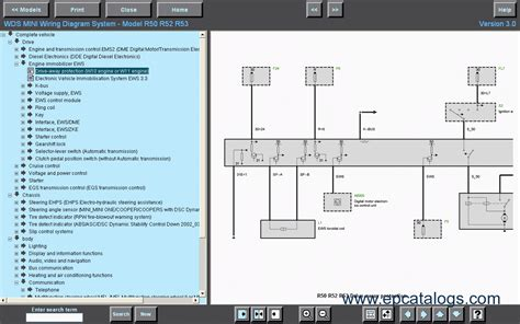 bmw mini wds wiring diagram system ver 7 0