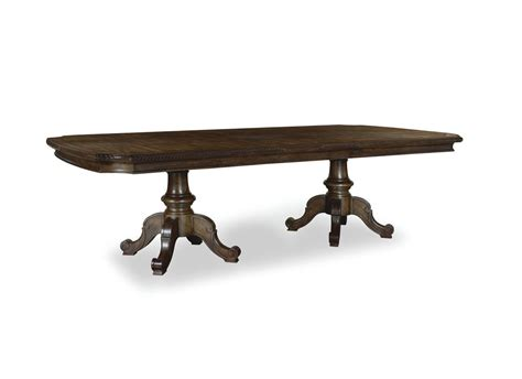 double pedestal dining room table the chateaux double pedestal table dining room collection