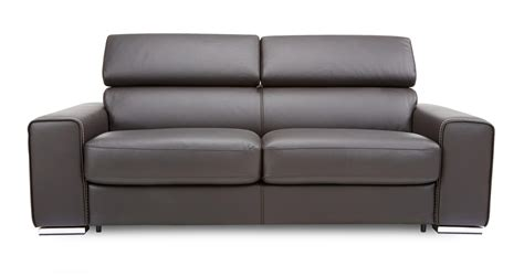 dfs leather sofa beds dfs kalamos bournville contrast leather 3 seater sofa bed
