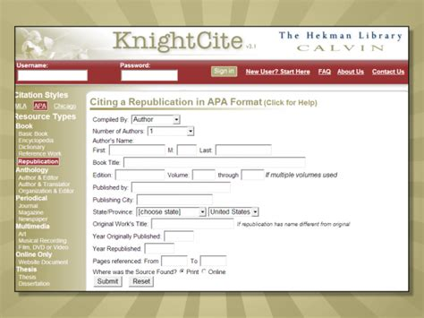 apa format program free online tools to cite sources and format references