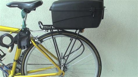 Box For Bike Rack by Bike M Wave