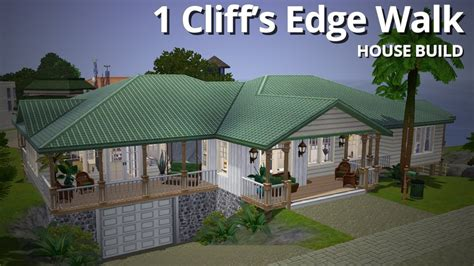 build a house the sims 3 house building 1 cliff s edge walk aluna