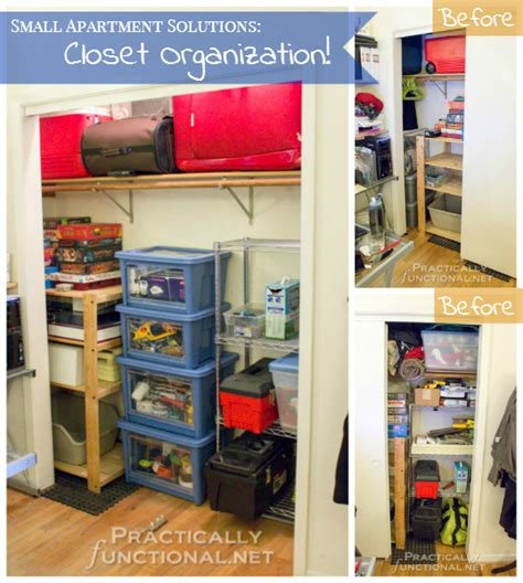 apartment organization small apartment solutions closet organization
