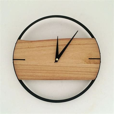 wooden wall clock aliexpress buy wall clock brief style wooden