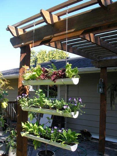 Gutter Planter Box by As The Card Rack Turns Pinteresting