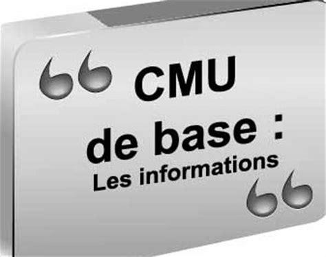 Plafond Cmu Complémentaire by Cmu C Informations Essentielles Sur La Cmu