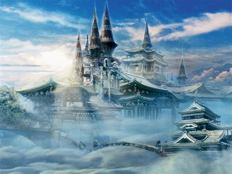 Castle In The Sky castle in the sky wallpapers wallpaperholic