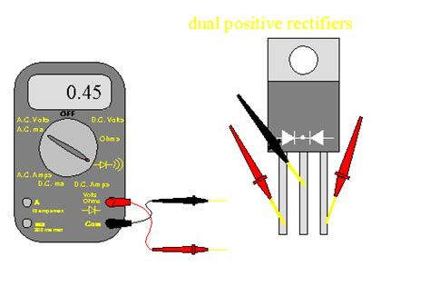 how to check a zener diode with digital multimeter speaker load and lifier failure