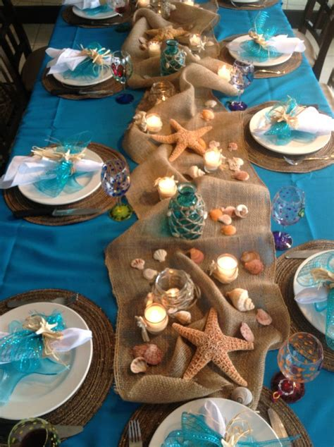 beach themed bridal shower centerpiece ideas best house beach theme party decorations applicable beach theme