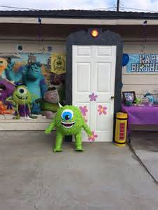 monsters inc boo s door can make from paper