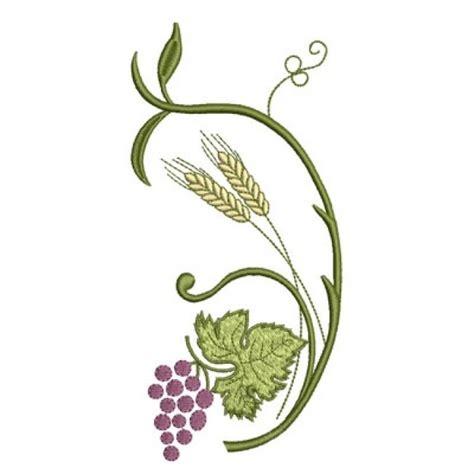 imagenes de uvas y trigo cacho de uvas com trigo