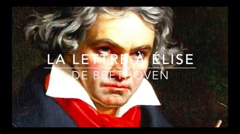 la lettre 224 201 lise de beethoven