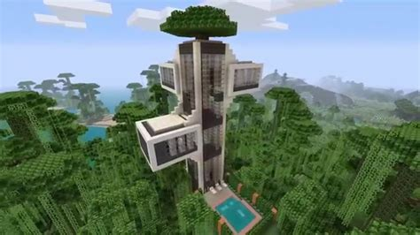 minecraft tree house minecraft modern tree house youtube