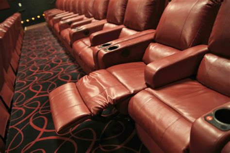 theatres with reclining seats now at the movies fully reclining seats wsj