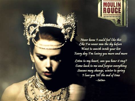 movie quotes moulin rouge one day i ll fly away leave all this to yesterday