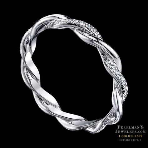 michael b infinity ring michael b jewelry alternating infinity band