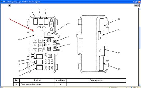 honda odyssey ac relay location get free image about