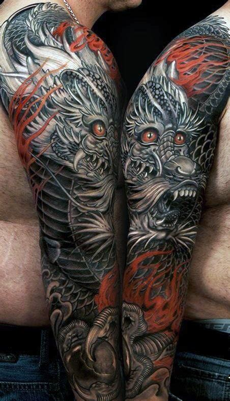 mens dragon tattoo designs 50 deadly tattoos for manly mythical monsters
