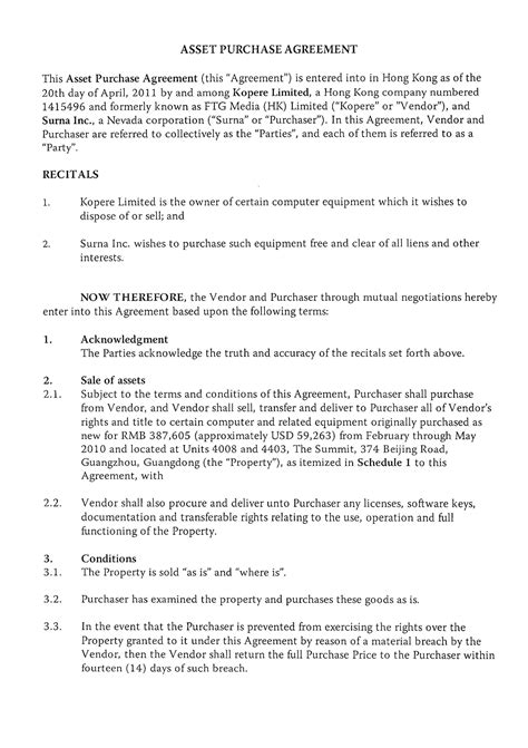 Letter Of Intent Sle New Zealand Letter Of Intent Asset Purchase Agreement Buying Or Selling A Business In New Zealand