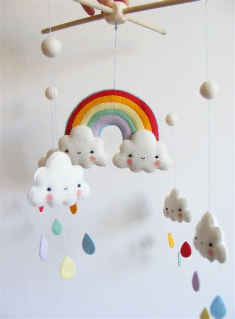pattern for felt baby mobile the 25 best ideas about cloud mobile on pinterest felt