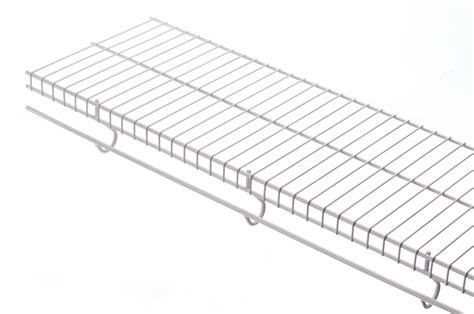 menards shelving boards rubbermaid 12 inch x 8ft white free slide shelf the home depot canada