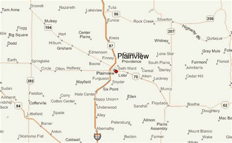 plainview texas map plainview texas location guide