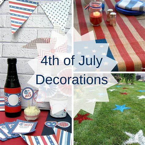 4th of july party decorations craft paper scissors