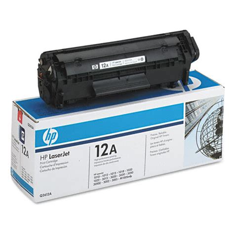 Bubuk Toner Untuk Isi Ulang Hp Laserjet jual bubuk toner laserjet monochrome black hp q2612a 12a