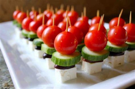 Light Appetizers light appetizer salad on a stick wedding food appetizers etc